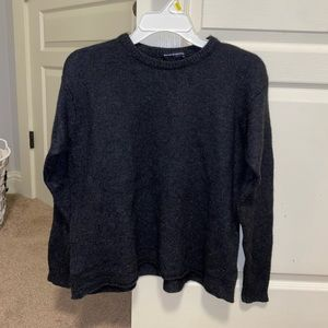 BM grey sweater